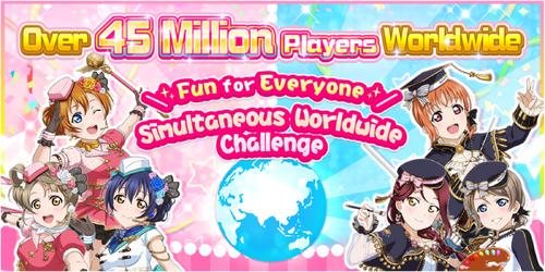 45 Million Players Worldwide Challenge EN