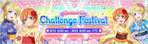 Challenge Festival Round 9 EN