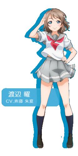 Sunshine!! infobox - Watanabe You