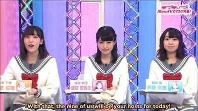 ENG SUB 1 5 Love Live! AbemaTV SIF ALL STARS Special - Part 1 Intro + Voice Drama