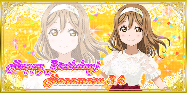 Happy Birthday, Hanamaru 2019
