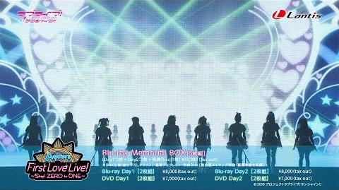 Love Live! Sunshine!! Aqours First LoveLive! ~Step! ZERO to ONE~ Blu-ray DVD Full PV