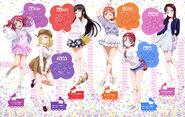 Dengeki G's Mag Mar 2017 HAPPY PARTY TRAIN Bonus Art 2