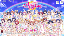 Love Live! School Idol Festival ALL STARS Eng Title Screen