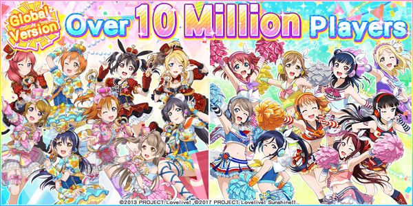 Over 10 Million Players (Global Version)
