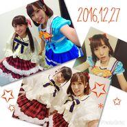 Aqours Mini Live 2016 - Anchan Rikyako Suwawa Dec 27 2016