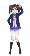 Yazawa Nico Character Profile (Pose 1)