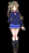 Minami Kotori Character Profile (Pose 1)