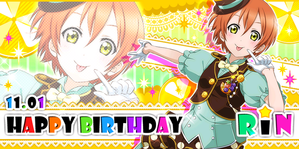 Happy Birthday, Rin!