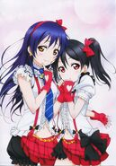 Umi Nico Dengeki G's Mag April 2013