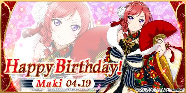 Happy Birthday, Maki! 2015