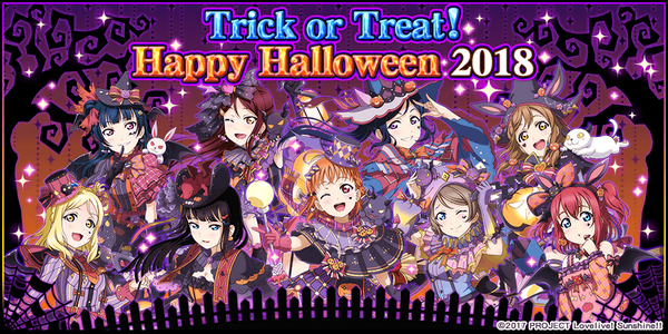 Trick or Treat Halloween EN 2018
