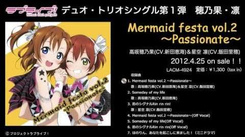 Mermaid festa vol