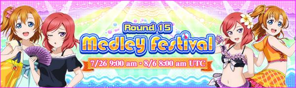 Medley Festival Round 15 EN