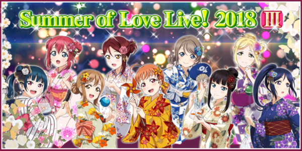 The Summer of Love Live 2018 Part 3 Campaign