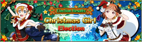 Christmas Girl Election Result EN