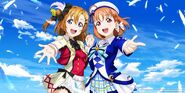 LLSIFAS Visual - Honoka & Chika