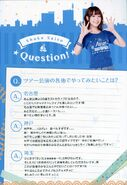 Aqours Second Live Pamphlet 23