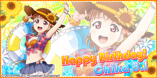 Happy Birthday, Chika! 2017