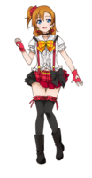 Kousaka Honoka Character Profile (Pose 4)