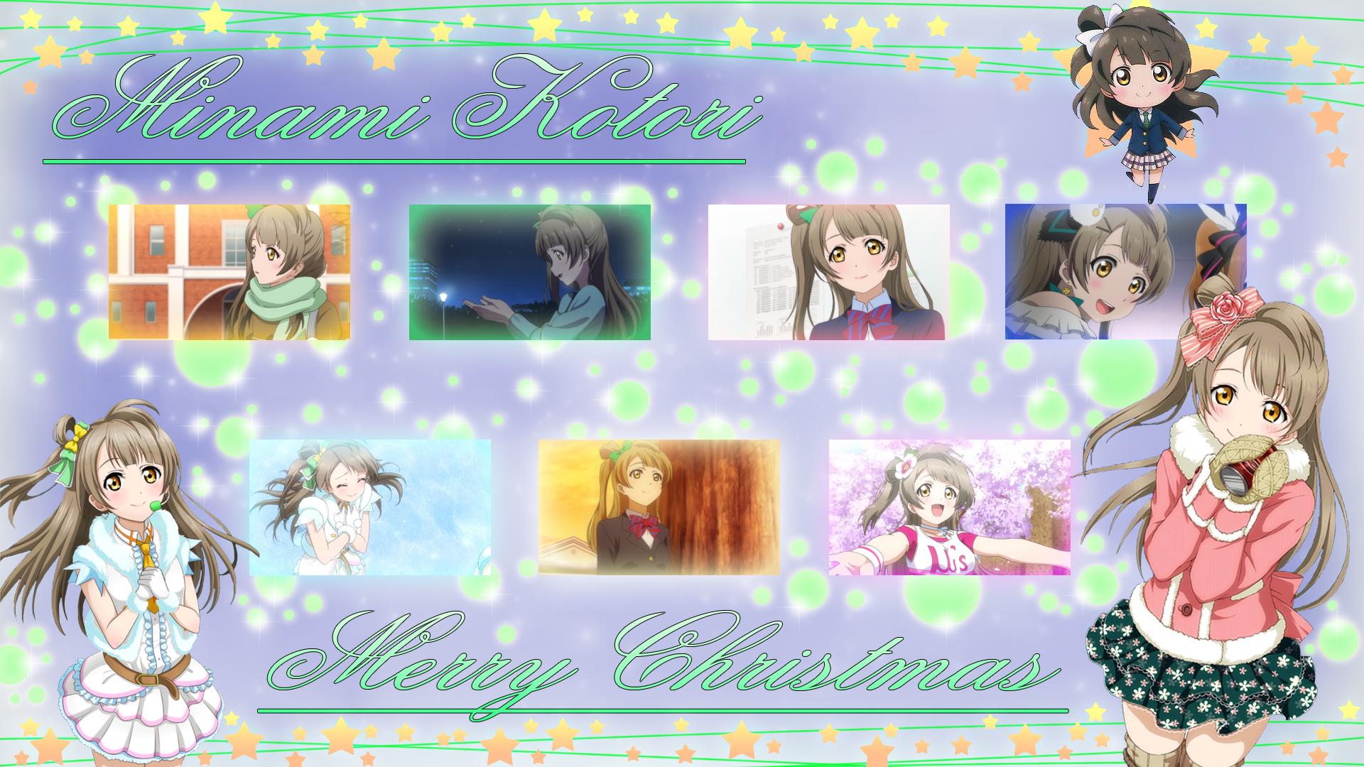 Image Minami Kotori Christmas Wallpaperjpg Love Live Wiki