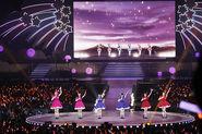 Aqours First Live - Aida Rikako, Furihata Ai, Inami Anju, Kobayashi Aika, Saitou Shuka and Takatsuki Kanako 01