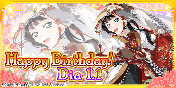 Happy Birthday, Dia! 2018