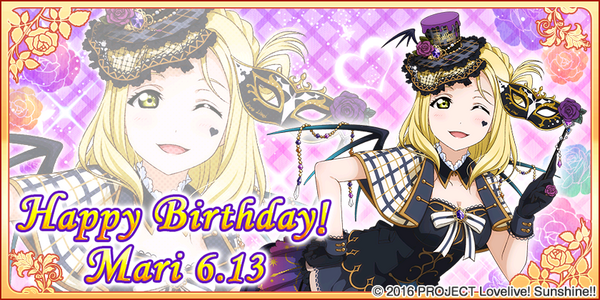 Happy Birthday, Mari! 2017