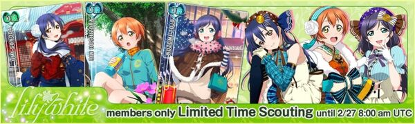 (2-24) lily white Limited Scouting