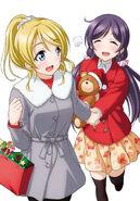 LLSID Nozomi Eli μ's Christmas Ch 2