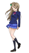 Minami Kotori Character Profile (Pose 2)