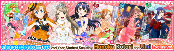 (8-12) Second Years Limited Scouting