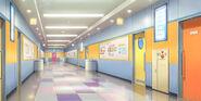 NijiGaku hallways