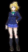 Ayase Eli Character Profile (Pose 1)
