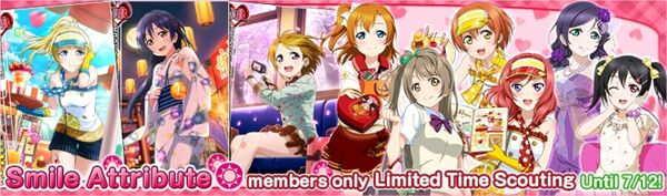 (7-10) Smile Limited Scouting
