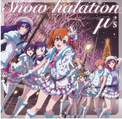 Snow halation - cover
