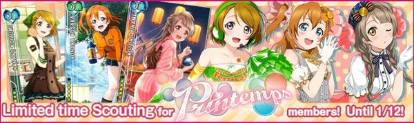 (1-10) Printemps Limited Scouting