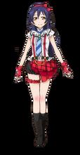 Sonoda Umi Character Profile (Pose 4)
