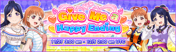 Give Me a Happy Ending Event