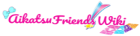 Aikatsu Friends! Wiki Wordmark