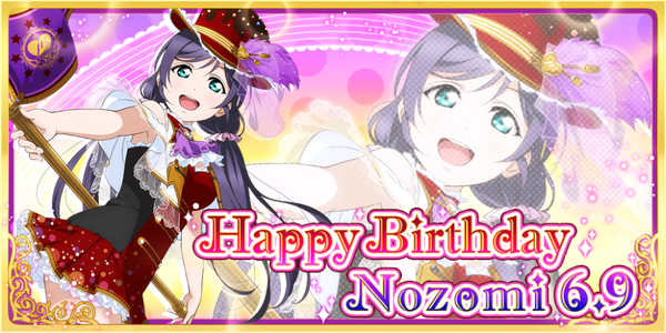Happy Birthday, Nozomi! 2016