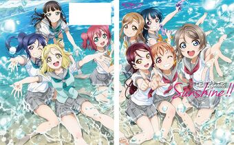 Love Live School Idol Festival Official Fan Book Japanese Artbook Fanbook Japan