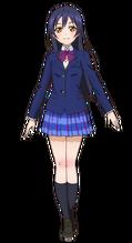 Sonoda Umi Character Profile (Pose 1)