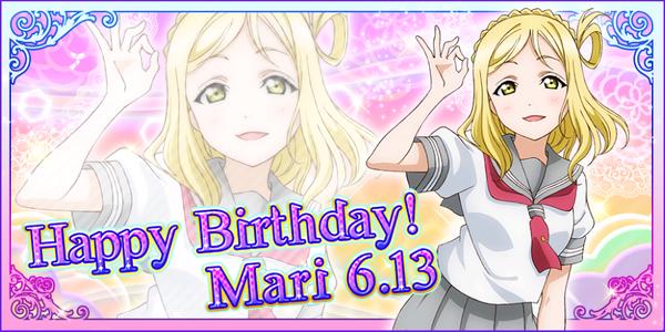 Happy Birthday, Mari! 2016