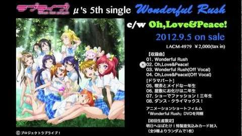 Oh,Love&Peace! PV