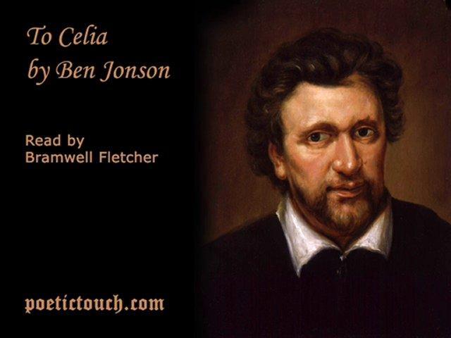To Celia - Ben Jonson