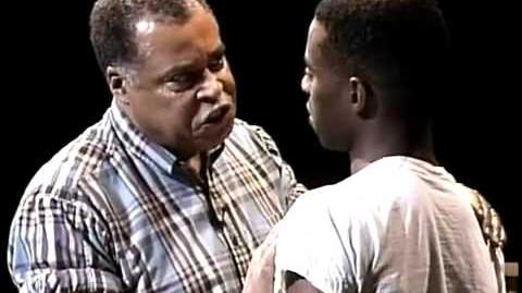 "Fences - Analyzing Staging in Act 1, Scene 3 - ""How come you ain't never liked me?"""