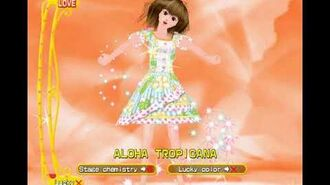 Love and Berry Dress Up and Dance! Card Showcase - Aloha Tropicana (Love)
