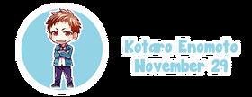 Birthday kotaro