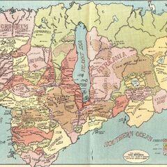 Hyborian Super Continent